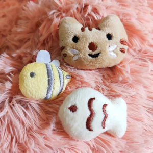 [MPK Catnip Toy] Buy Any 3 Pieces to Get 30% Off! New 2020 Cat Face Design Cat Toy, Catnip Cookie Small Catmint Pillow(China)