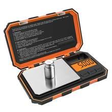 Mini hassas dijital terazi altın gümüş takı Gram ölçeği denge ağırlığı dara fonksiyonu gıda ilaç kahve