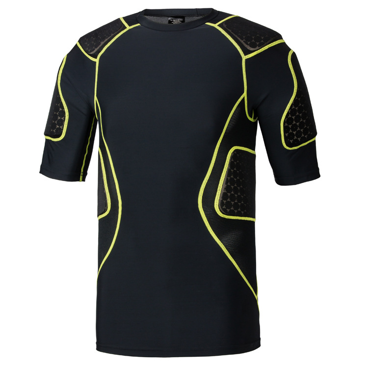 2019 American-Style Breathable Rugby Anticollision Service Clothes Sports Coat Short Sleeve Sport Ware Rugby Clothing