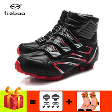 TIEBAO zapatillas deportivas hombre Bicycle Cycling Shoes Men sneakers Women winter  MTB Mountain Bike boots Athletic