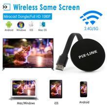 WiFi 4K HDMI Display Receivers for Smart Phone Google Wireless Same Screen US