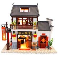 Набор миниатюрный для кукольного домика «сделай сам» деревянная