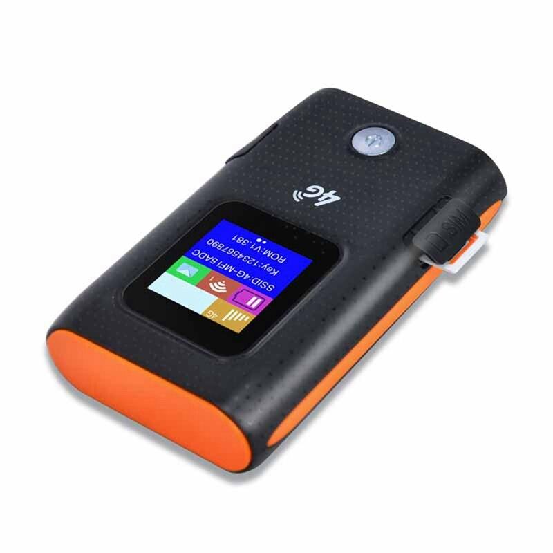 2 шт 4G Wifi роутер автомобильный мобильный Точка доступа беспроводной широкополосный Карманный Mifi разблокировка Lte модем беспроводной Wifi расширитель повторитель мини Rout - 3
