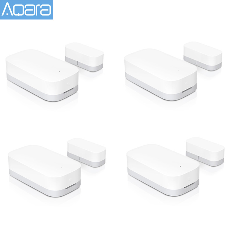 Original Aqara Door Window Sensor Zigbee Wireless Connection Smart Mini door sensor Work With Mi App For Android IOS Phone