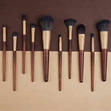Foundation Brush 10Pcs Make up Brushes Set Eyeshadow Brush Loose Powder Brush Lip Cosmetic Beauty Makeup Brush Pincel Maquiagem 5pcs pincel maquiagem makeup brushes set powder foundation contour eyeshadow blush facial coametic make up beauty brush tool set