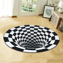 Carpets-Mat Illusion-Rug Floor-Door Living-Room Vortex for Bed 3d-Printed