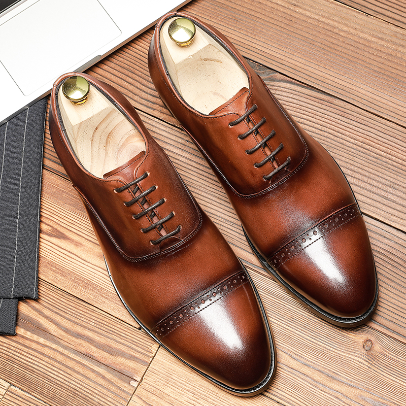 genuine leather shoes for mens