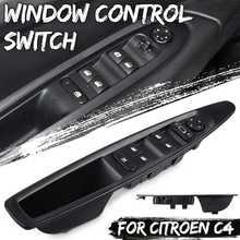 Araba ön sol yan güç pencere kaldırıcı anahtarı manuel dikiz aynası düğme Citroen C4 2004 2010