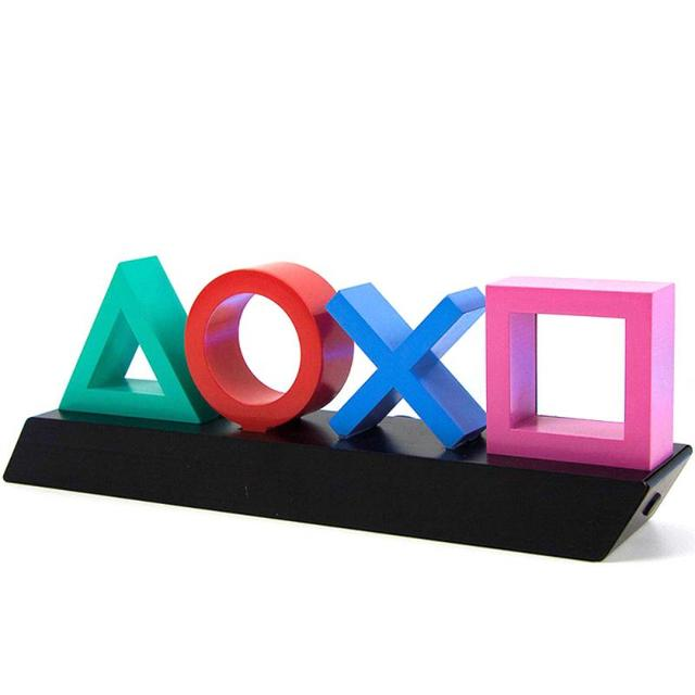 2021 New Voice Control Game Icon Light for PS4 Mood Flash Lamp for Playstation Player Commercial Colorful Lighting