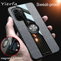 For Xiaomi POCO F3 Case Cover Soft Silicone Frame and Magnetic Ring Holder Back Cover Xiomi Pocophone F3 NFC Shell Phone Case