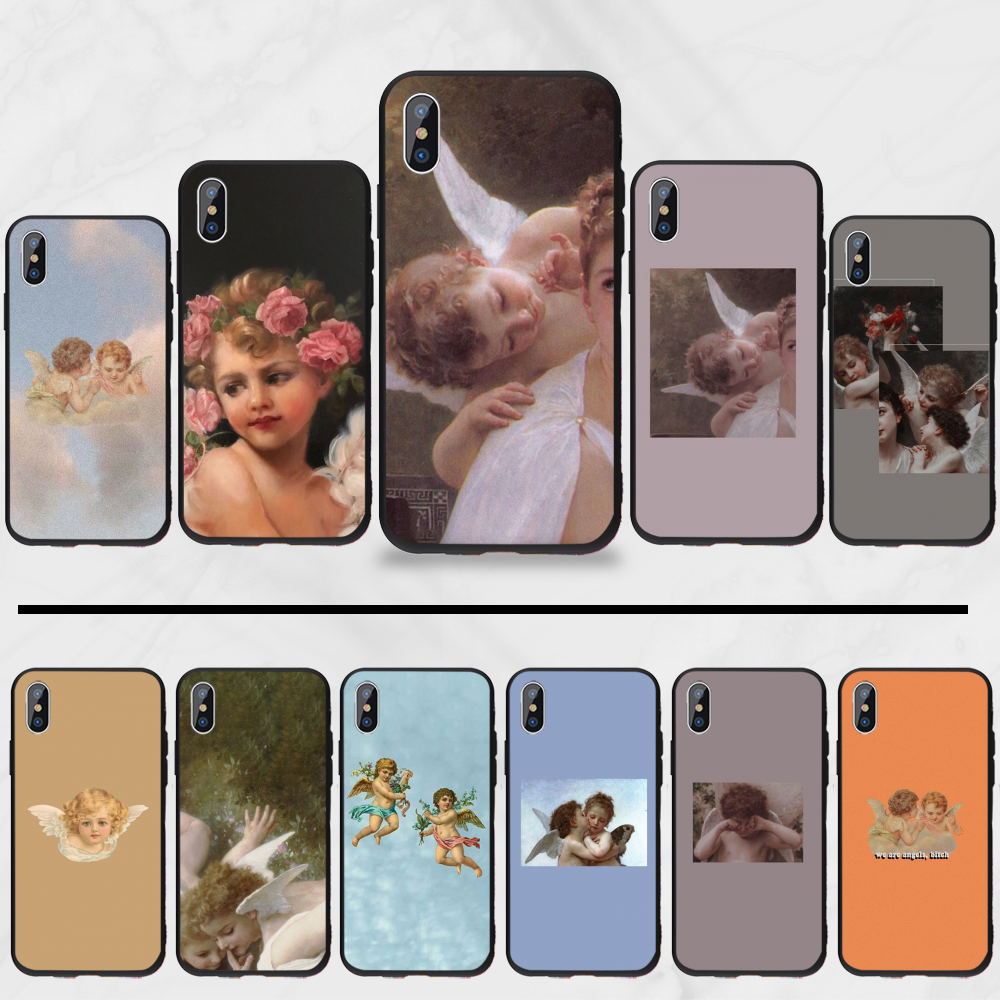 koji angel Phone Case For iphone 5 5s 5c se 6 6s 7 8 plus x xs xr 11 pro max(China)