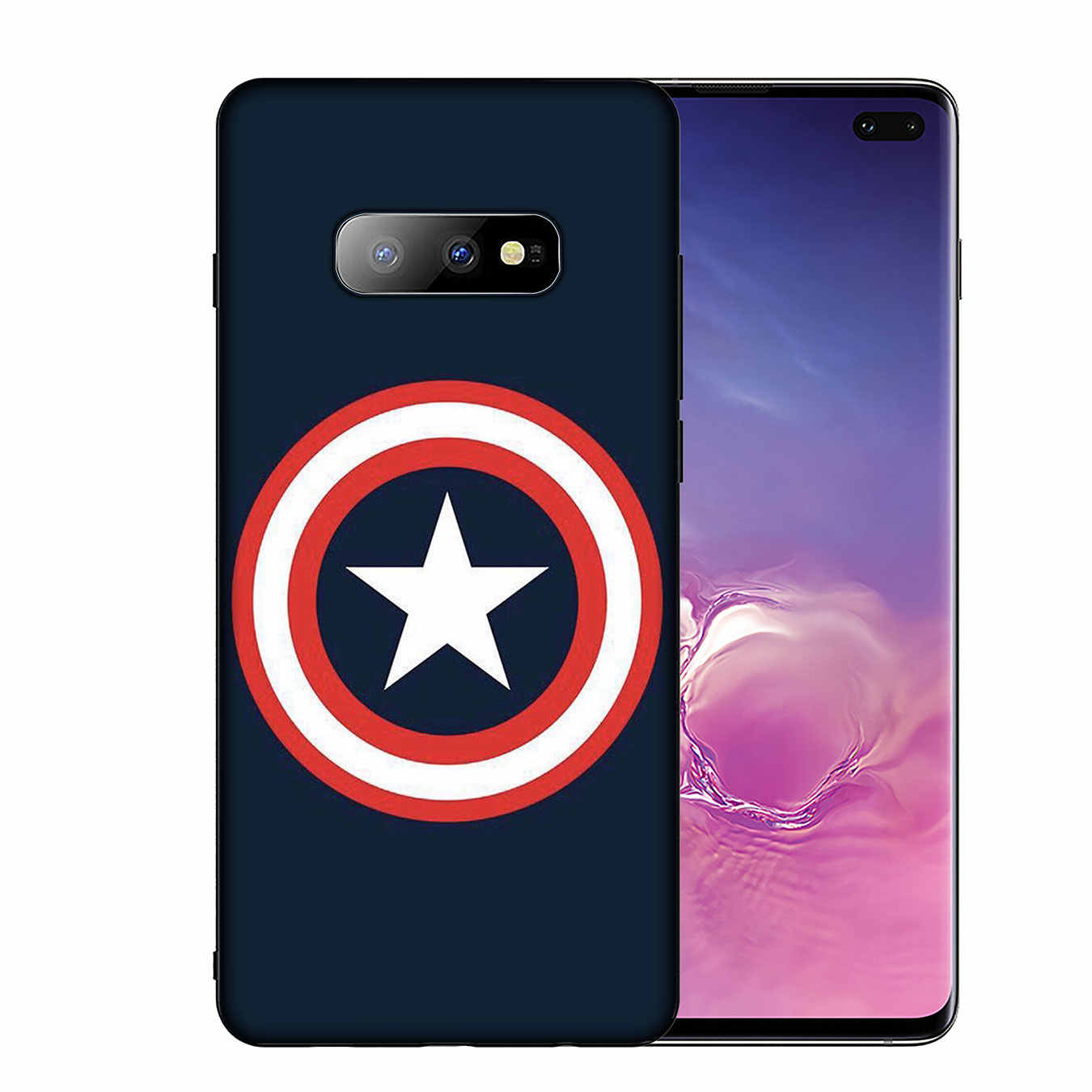 IYICAO The Avengers Superhero Caso de Telefone de Silicone Macio para Samsung Galaxy S20 Ultra Lite S10 S9 S8 Plus S6 S7 Borda S10e Capa