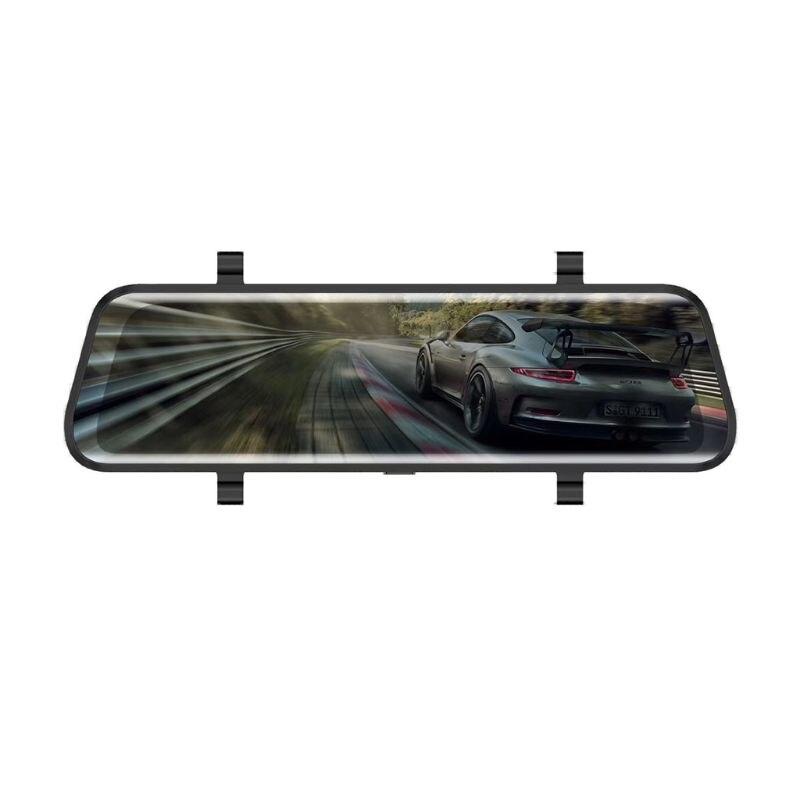 Video-Recorder Car-Dvr Dash-Cam Rear-View-Mirror Dual-Lens 1080P HD 16G 10-170