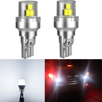 2x 6000K White Canbus No Error 912 W16W T15 Car LED Bulbs Fits 2006 - 2016 2017 2018 Toyota RAV4 RAV 4 LED Backup Reverse Light image