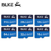 Tarjeta BLKE TF Class10 UHS-I U3 Micro SD tarjeta 32G 64g 128G 256GB para teléfono móvil tacógrafo cámara de movimiento tarjeta de memoria de alta velocidad