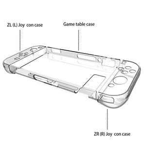Image 4 - Sac à dos Transparent housse de protection pour Nintendo Switch NS NX étuis housse pour Nintendo Switch Ultra mince PC sac Transparent