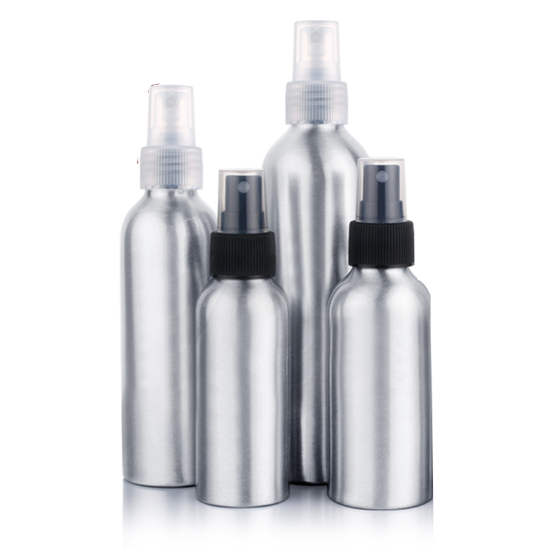 Refillable Aluminum <font><b>Spray</b></font> <font><b>Bottle</b></font> Perfume Atomizer <font><b>Spray</b></font> Portable Empty Perfume <font><b>Spray</b></font> <font><b>Bottle</b></font> Empty Cosmetic Containers 30-<font><b>120ml</b></font> image