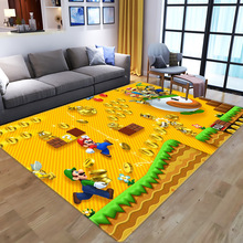 Carpets Rugs Floor-Mat Game-Area Bedroom Play Living-Room Anime Large Super-Mario-Pattern