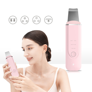Image 2 - Inface Ultrasonic lon Cleansing Facial Skin Scrubber Deep Face Cleaning Peeling Rechargeable Skin Care Device Beauty Instrument