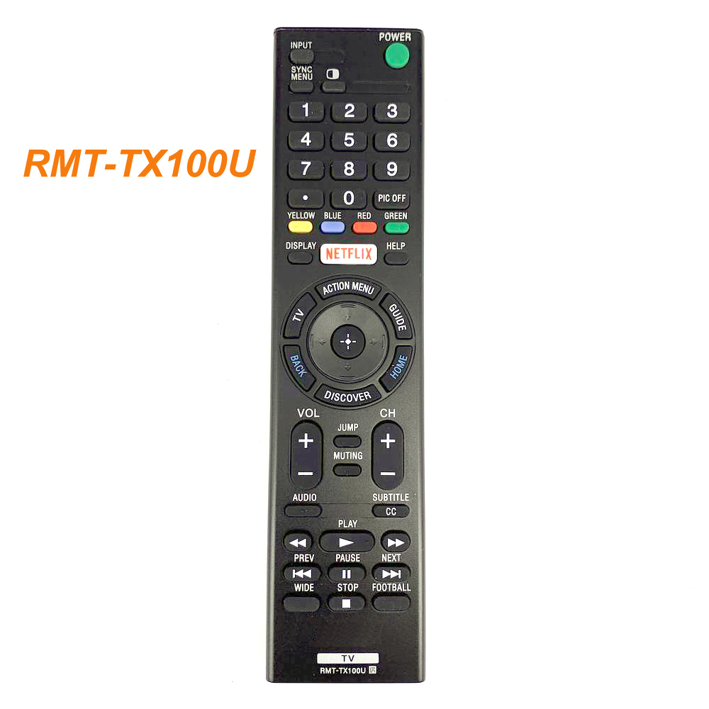 New Replacement RMT-TX100U For SONY TV Remote Control KDL50W800C KDL75W850C XBR55X850C XBR75X940C image
