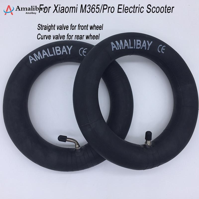 Amalibay – chambre à air épaisse pour Scooter électrique Xiaomi M365, 8.5 pouces, pneu 8 1/2X2, caméras pour roue avant et arrière M365 Pro PRO2