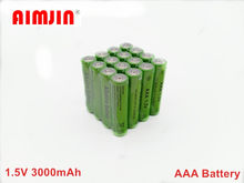 4pcs New AAA Rechargeable Battery 1.5V 3000mah Alkaline Batteries for Remote Control Electronic toys LED light Shaver Radio