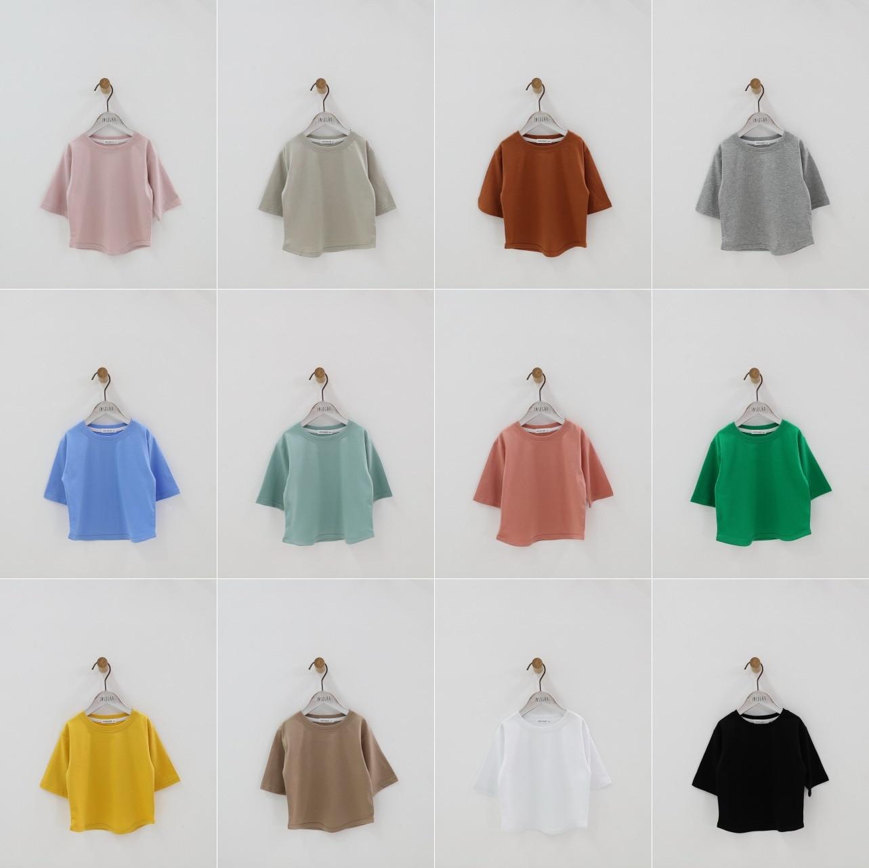 2020 Summer Early Autumn Children Loose-Fit Half-sleeve Shirt T-shirt BOY'S T Girls South Korea