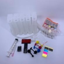 1set Empty CISS ink cartridge PGI-450XL PGI-450 CLI-451 for Canon Pixma IP7240 MG5440 MG5540 MG6440 MX724 MX924 (Russia)