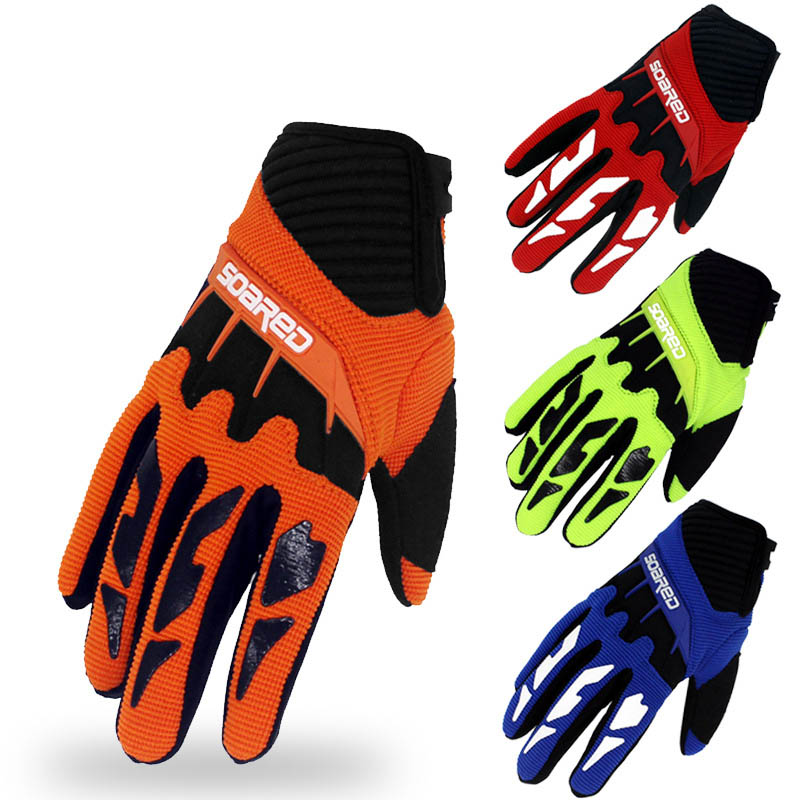 3-12 Years Old Children Skating Gloves Full Finger Ski Gloves Quick-release Handwear Heated Gloves Outdoor Snow Gloves
