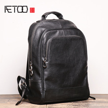 New Backpack Computer-Bag European American-Style Large-Capacity School And AETOO Men