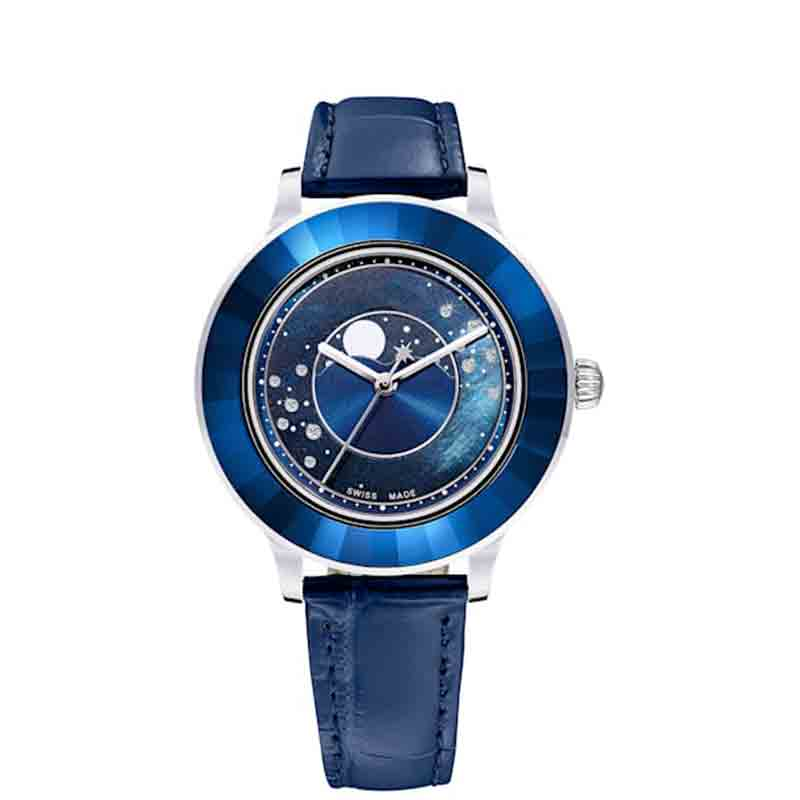 Original SWA 5516305 OCTEA LUX MOON Watch Stainless Steel Watch Waterproof Watch Couple Watch Austrian Watch Crystal Watch