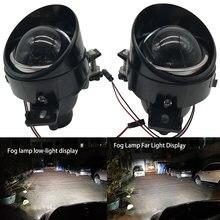 Led hid 12v h11 lente brilhante super conjunto da lâmpada de nevoeiro para nissan teana 2004-2014 estilo do carro luzes de nevoeiro de alto brilho luzes drl
