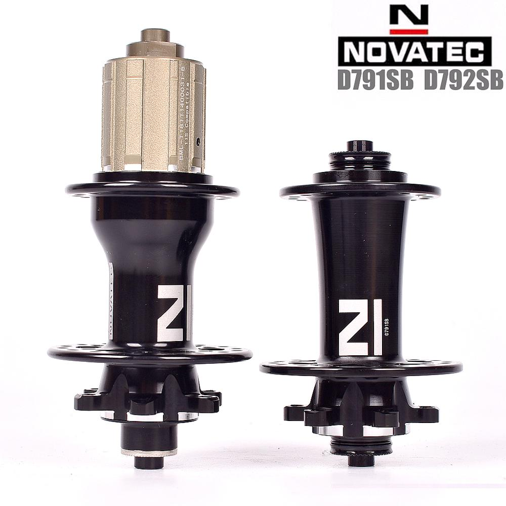 2019 New Novatec D791SB D792SB Mountain Bicycle Disc Hubs BOOST QR Thru For 8 9 10 11 Speed 28 32 Holes Front 2 rear 4 bearings(China)