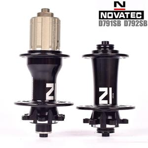 2019 New Novatec D791SB D792SB Mountain Bicycle Disc Hubs BOOST QR Thru For 8 9 10 11 Speed 28 32 Holes Front 2 rear 4 bearings