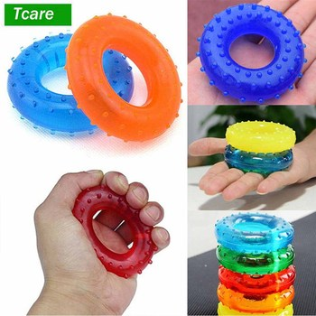 Tcare 1Pcs Body Massage Relaxation Hand Grip Strengthener Exercisers Resistances Perfect Increasing Hand Finger Wrist Forearm 1