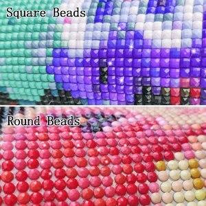 Image 2 - Diamant peinture plein carré/rond la nuit montre Fine Art célèbre peinture 5D Daimond peinture point de croix strass 089XP