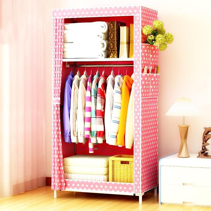 Mode peinture vêtements placard pliant glisser Pull tissu stockage robe Rack vêtements cintre créatif moderne chambre armoire