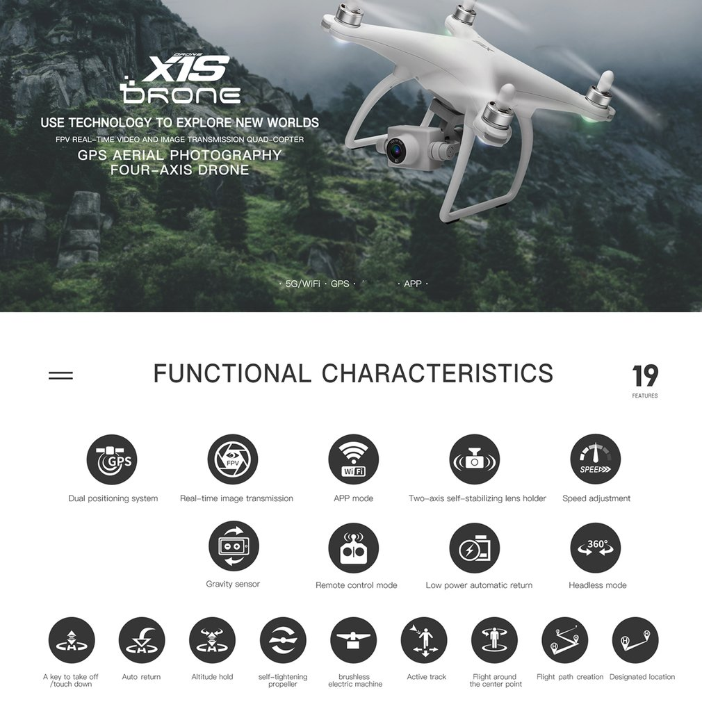 lowest price Clearance XT-1 4-CH 6-Axis RC Drone 1080P Full HD Camera 2 4GHz WIFI Quadcopter Professional Real Time Video Camera