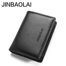 Tarjetero minimalista para hombre, cartera pequeña para Walet, Cuzdan, Vallet, bolsa de dinero, Kashelek, Portomonee