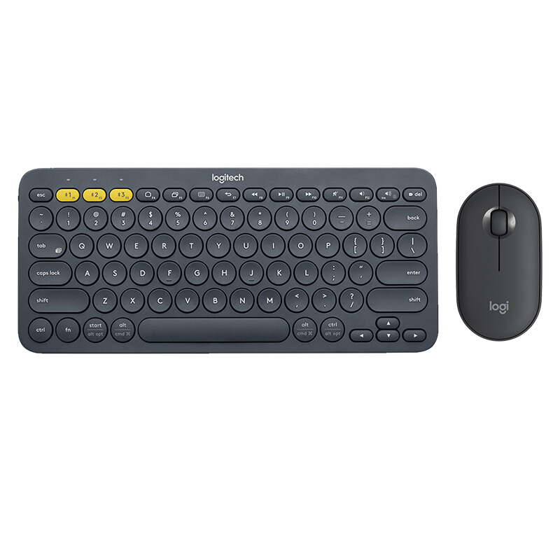 K380 and Mouse Black