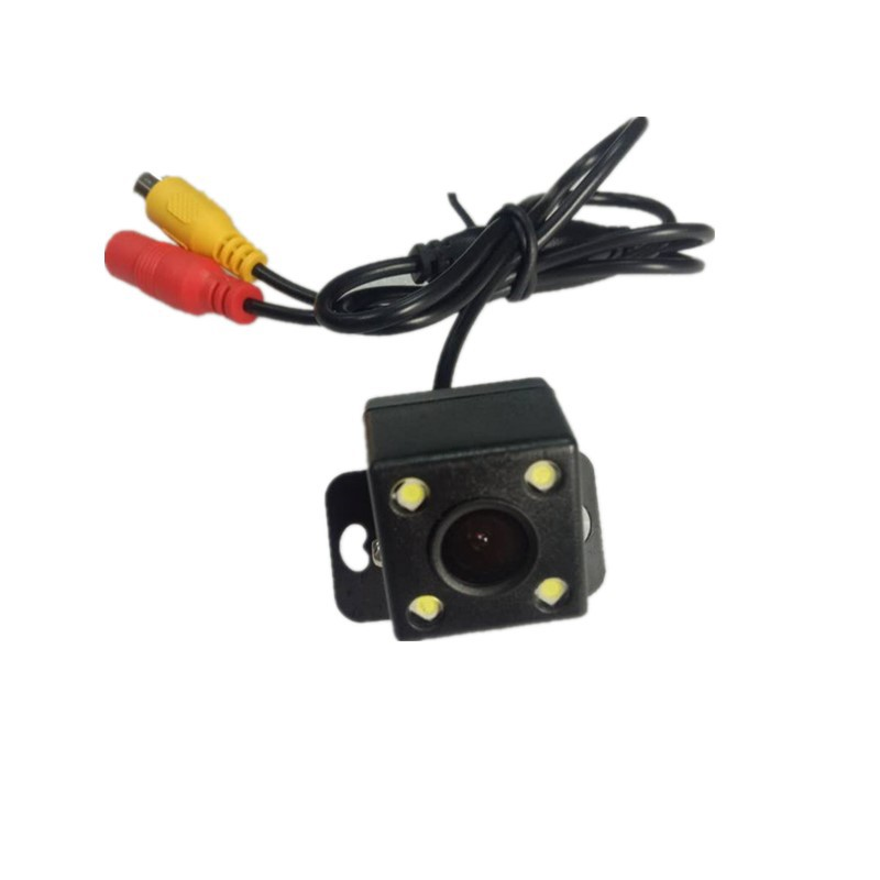 Car Rear Camera Big Screen Only Plug-CCD High-definition With LED Night Vision Rear View Webcam