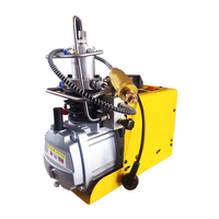 220V 110V 300BAR 30MPA 4500PSI Electric Air Compressor High Pressure Air Pump For Pneumatic Scuba PCP Pump Inflator Paintball