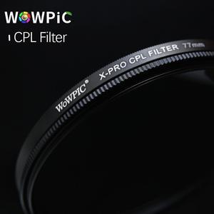 Image 4 - WOWPIC 82mm X PRO CPL filtre PL CIR polarisant multi revêtement filtre pour DLSR 82mm objectif pour Nikon Canon Pentax Sony DSLR appareil photo