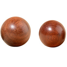 Wooden Stress Baoding Ball Health Exercise Handball Finger Massage Chinese Health Meditation Relaxation Therapy(China)