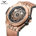 ONOLA Необычные новые мужские часы 2019 Топ люксовый бренд мужские часы водонепроницаемые стальные модные повседневные мужские часы relogio masculino
