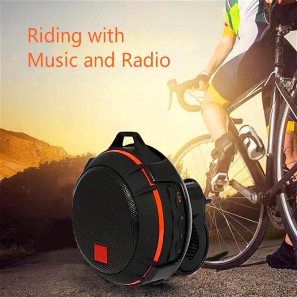 مكبر الصوت المحمول مكبر الصوت Biclye بلوتوث مقاوم للماء راديو Fm Boombox نظام الصوت مركز الموسيقى نظام الصوت