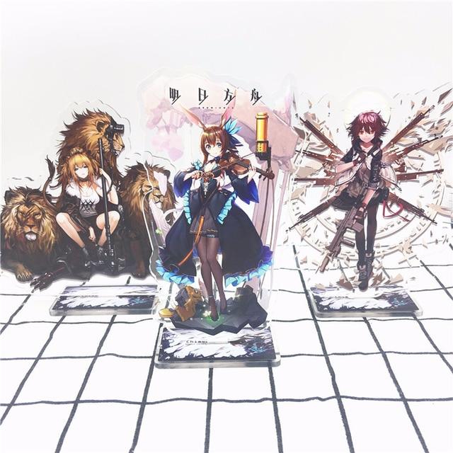 Arknights Online Game App Anime Accessories Acrylic Keychain Decor bag Display Gift executor blaze texas ifrit chen amiya lappland pramanix