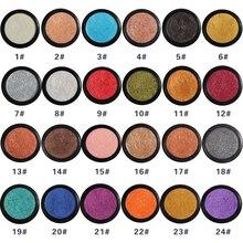 PHOERA HOT 24 цвета кремовые блестящие тени для век Палитра теплый матовый мерцающий пигмент дымчатый косметический макияж для глаз Maquillajes TSLM1