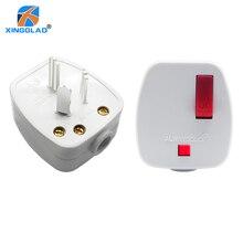 Au 호주 cn 중국어 ac 전력 rewireable 플러그 남성 w/스위치 와이어 소켓 콘센트 어댑터 연장 코드 커넥터