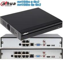 Dahua-Grabadora de vídeo en red 4K 8PoE NVR4108HS-8P-4KS2 8CH POE 1U H.265 Lite, DH-NVR4108HS-8P-4KS2 NVR